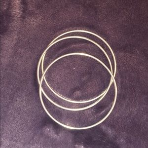TIFFANY & CO Sterling Silver 3 SEPARATE Bangles